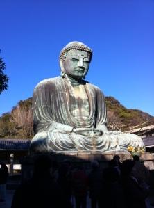An amazing, larger-than-life Buddha statue