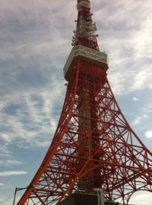 Tokyo Tower - strongly resembles my favorite tourist attraction!
