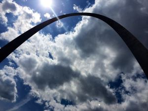 The lovely Gateway Arch